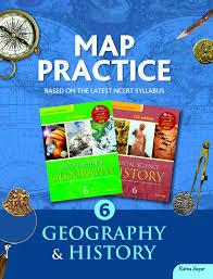 Map Practice Map Practice Book 6 Amazon In R K Jain Books