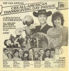 cbs thanksgiving day parade 1983 cbs tv thanksgiving day parade ad what u0027s on tv pinterest