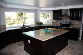 Dark Kitchen Ideas Furniture Elegant Delicatus Granite Countertop For Interesting
