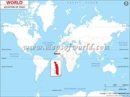 togo location on world map where is togo location of togo