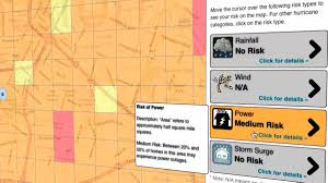 Rice Campus Map Houston Unveils Storm Risk Calculator For 2012 Hurricane Season