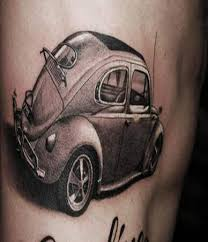 7 side rib car tattoos