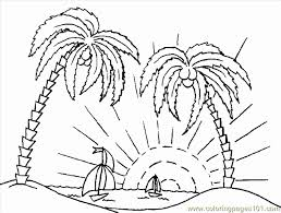 free printable coloring page palmtree cartoons 505418 coloring