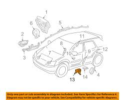 lexus rx 350 toyota equivalent lexus toyota oem 07 09 rx350 airbag air bag srs center sensor