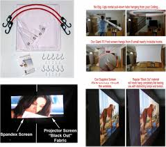 home theater projection screen here u0027s the perfect projection screen for the tiny power saving