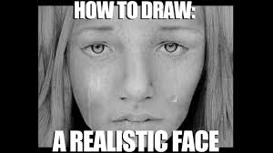 how to draw a realistic face crying u2022 gemoomay youtube