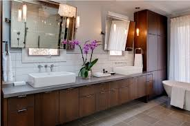 Bathroom Vanity Cabinets Mid Century Modern Bathroom Vanity With Sink All Modern Home Designs
