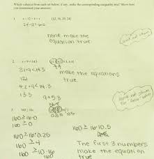Solve And Graph The Inequalities Worksheet Finding Solutions Of Inequalities Students Are Given Three