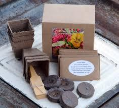 garden kit heirloom flower seeds gardening supply hostess gift