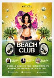 psd club flyer template poster flyer free psd 70 best free