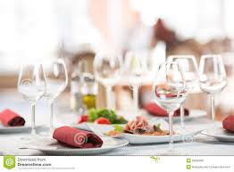 Setting Table Banquet Setting Table In Restaurant Stock Photo Image 39558095