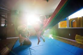 home sensory gyms provide another tool for children with sensory