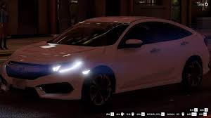 honda civic 2016 sedan honda civic sedan 2016 gta5 mods com