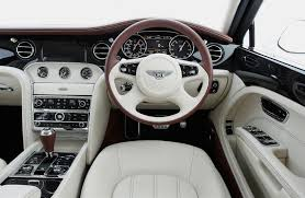 luxury cars inside bentley mulsanne les bons viveurs l b v