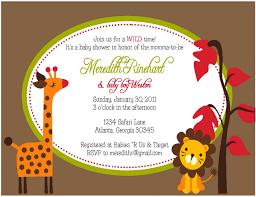 templates safari baby shower invitations baby shower invitations