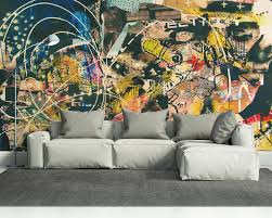wall mural abstract home interior 15 new mind blowing wall murals for your home eazywallz