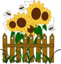 clipart garden 136673