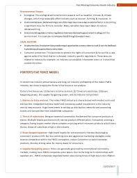 industry analysis example industry analysis example how to write