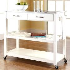 white kitchen island cart fabulous kitchen island cart kitchen island with stainless steel