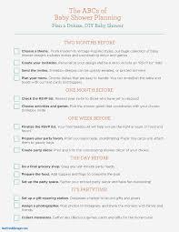 home design checklist wedding decoration checklist fresh baby shower planning guide home
