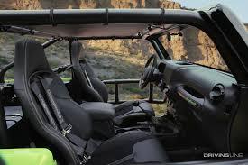 tactical jeep 2 door three trucks a diesel and a 707hp hellcat wrangler drivingline
