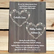 Rustic Invitations 10 Affordable Rustic Valentine U0027s Day Wedding Invitations