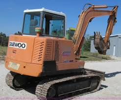 1995 daewoo dh50 mini excavator item g2121 sold october