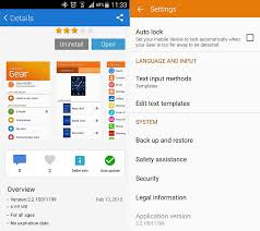 samsung gear manager apk samsung gear manager gets an update sammobile