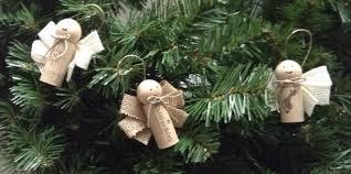 wine cork angel ornaments set of 3
