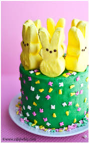 Easter Cake Decorating Ideas With Peeps by Peeps Cake