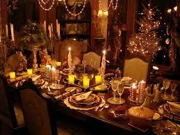 Dinner Table Christmas Eve Dinner Table Decorations Christmas Eve Dinner