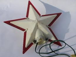 of vintage christmas decorations angel hair tree toppers bell