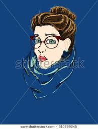 beautiful woman sunglasses stock illustration 396370036 shutterstock