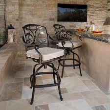 bar stools for outdoor patios outdoor bar stools sets costco