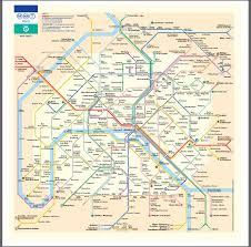 Map Of Lyon France by Metro A Paris With Rer Interchanges Portefonchaine Is On The Gare