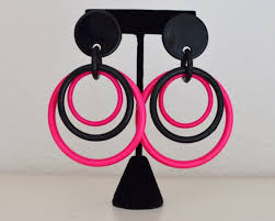 80s earrings 127 best 80s images on 80 s and 80s fashion