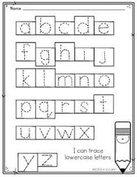 free uppercase and lowercase letter tracing worksheets alphabet