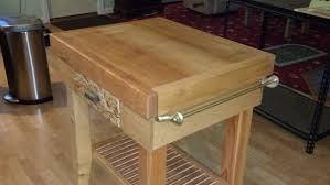 rick s butcher block island the wood whisperer rick s butcher block island