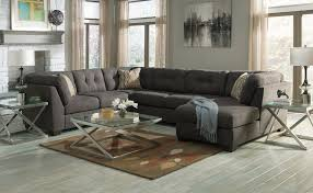 Sofa With A Chaise Lounge by Furniture Ashley Sofas For Enjoy Classic Seating With Simple