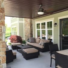 patio heater under roof create a watertight ceiling finish under your deck this patio