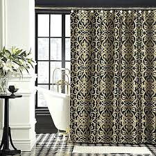 Shower Curtains Black Black And Gold Shower Curtains Large Size Of Coffee Shower