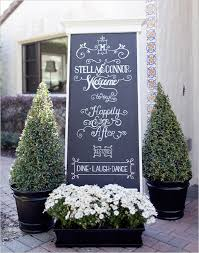 chalkboard program wedding wedding trends 2013 chalkboard wedding decor and details