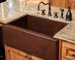high end kitchen sinks brilliant copper farmhouse sink kitchen with copper custom kitchen