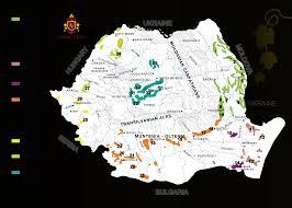 Romania Map Romania Wine Country Novitas Wines