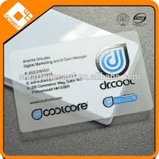 Clear Business Cards Clear Transparent Embossed Business Cards With Uv Print Buy