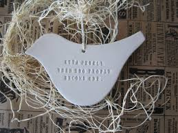 personalized ornaments wedding custom dove ornament personalized with names date or words
