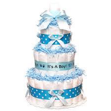 blue diaper cake 69 00 diaper cakes mall unique baby shower