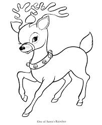 reindeer pulling santa u0027s sleigh coloring pages coloring