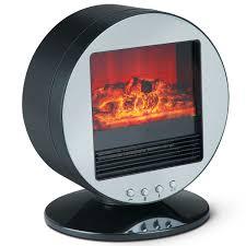 3d motion fireplace desktop heater the green head