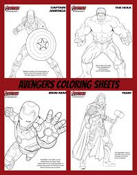 action packed avengers coloring and activity sheets ageofultron